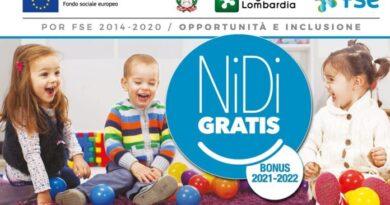 Apre il 18 ottobre il bando regionale Nidi gratis per azzeramento rette